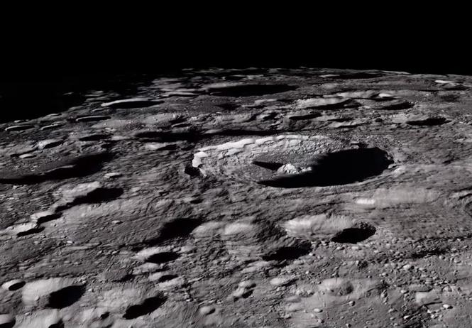 Крутое ВИДЕО поверхности Луны в мельчайших  деталях! Лучше, чем с твоего балкона!