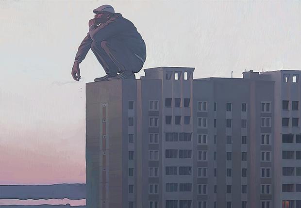 Фото №1 - Художник недели: Россия устрашающая в картинах Андрея Сурнова
