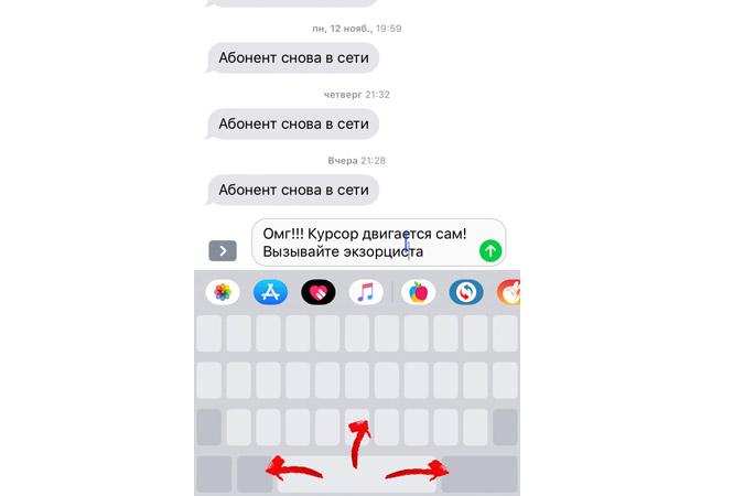 Фото №2 - Новая функция iPhone, с которой стало удобнее набирать текст