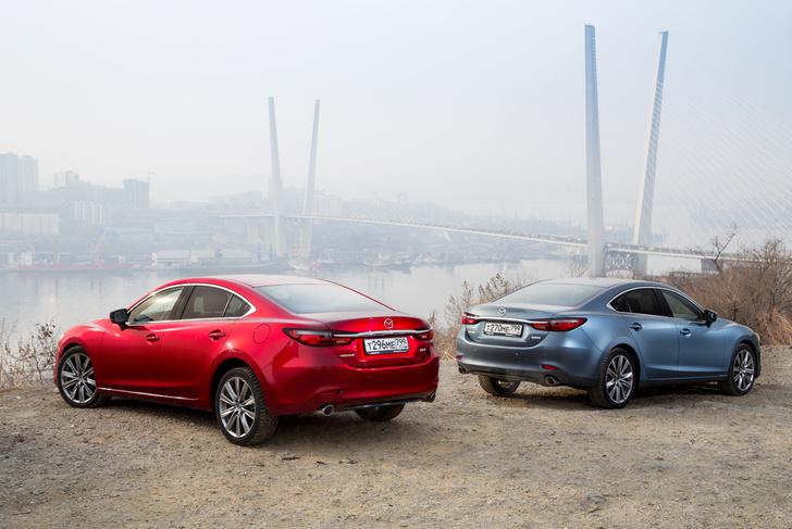 Фото №11 - Mazda 6 козыряет русским паспортом