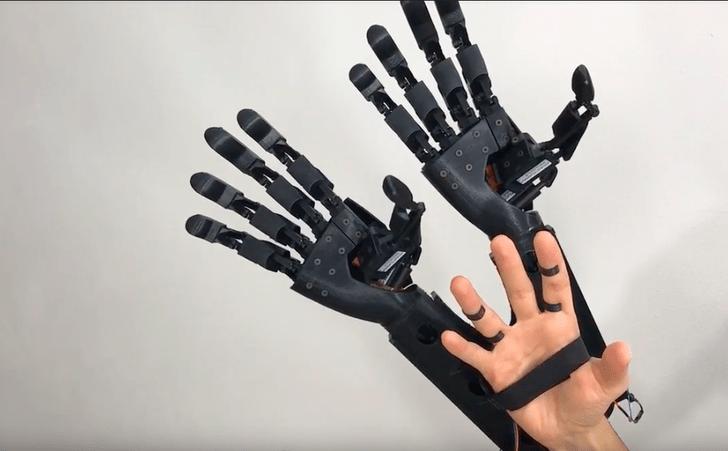 Фото №1 - Разработан кибернетический протез двух рук вместо одной