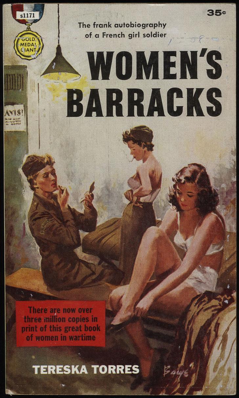 Фото №2 - Обложки старых эротических книг про лесбиянок!