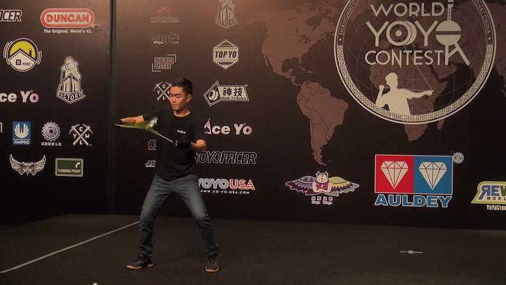 Фото №1 - Видео выступления чемпиона 2018 года по йо-йо