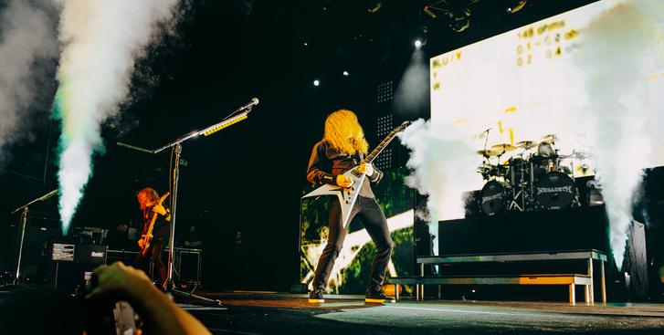 Фото №16 - Megadeth подняли температуру в Москве — посмотри и приобщись!
