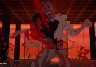 Глюк'oZa-суперженщина против Шнура и его киски в новом клипе-боевике «Ленинграда» «Жу-жу»!