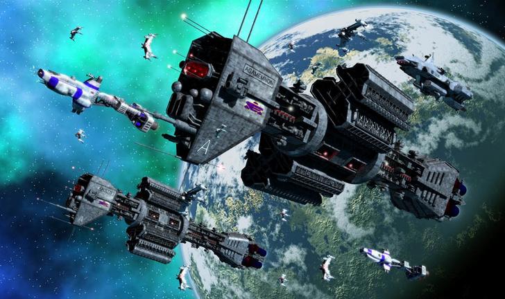 Фото №1 - Российский миллиардер объявил себя президентом космической державы