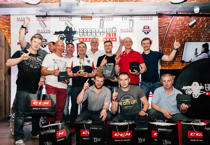 Фото №2 - Песнь льда и клюшек: в Москве прошел IX хоккейный турнир на кубок MAXIM