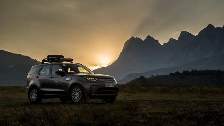 Фото №1 - Как MAXIM вместе с Land Rover Россию открывал!