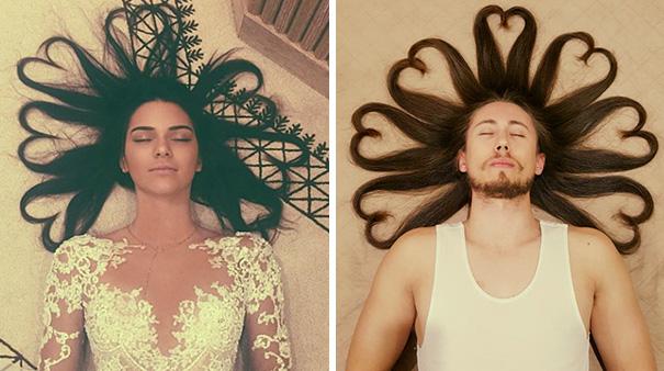 Фото №2 - Мужчины, пародирующие типично женские фото в Инстаграме, выглядят круче, чем женщины!