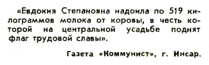 Фото №4 - Идиотизмы из прошлого: 1973-й год (выпуск № 5)