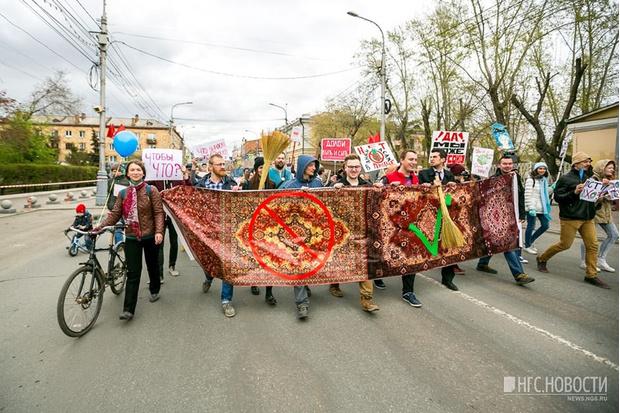 Фото №8 - Запрещена в России: плакаты первомайской Монстрации — 2017