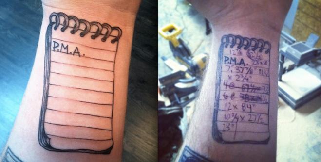 Фото №1 - Линейка, волосы и еще 3  полезные татуировки