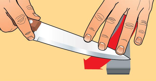 Наточить нож