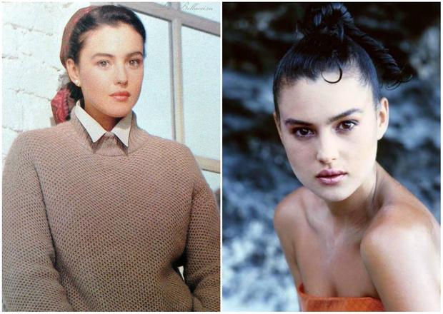 Фото №1 - Посмотри, какой Моника Беллуччи была в 1980-е, до того как стала актрисой (25 фото)