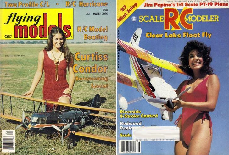 Фото №9 - Времена, когда авиамоделирование было сексуальным!