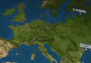 Тревожное видео, показывающее, что будет, когда растает весь лед на планете