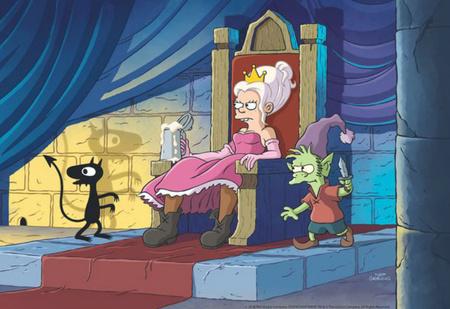 Смотри скорее: первый полный трейлер «Разочарования» от создателя «Симпсонов» и «Футурамы»!