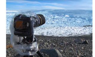 Как раскалывается гигантский ледник (ВИДЕО)