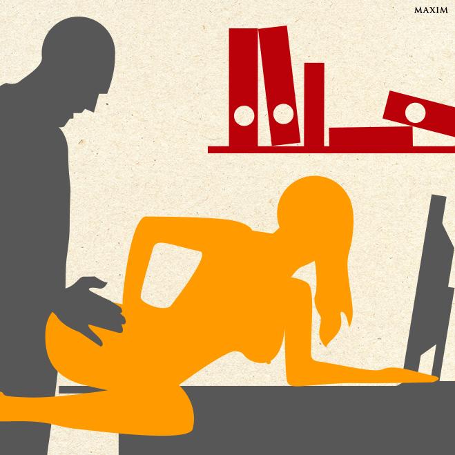 Секс В Рабочем Кабинете