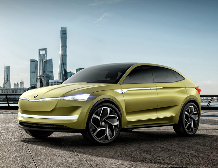 Фото №1 - Концепт Skoda Vision E намекает китайцам, как надо делать машины