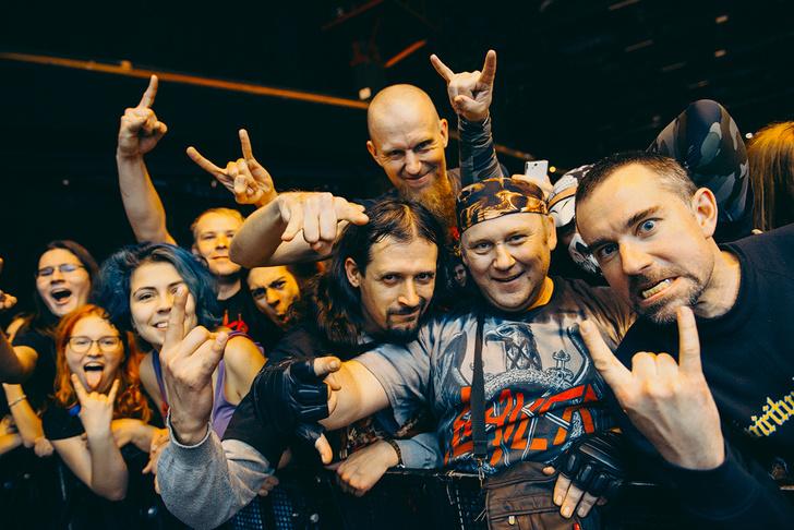 Фото №1 - Как разверзался ад на концерте трэш-металлистов Slayer и Anthrax