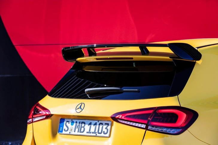 Фото №6 - Mercedes-AMG A35: солнечный зайчик