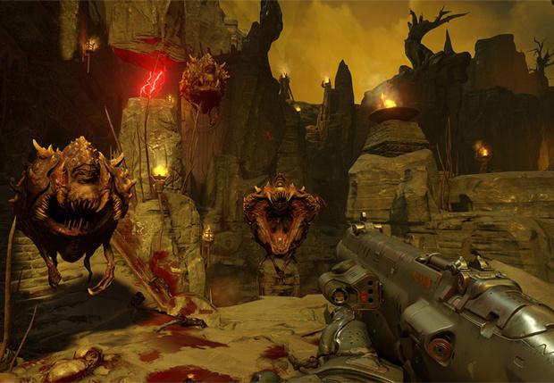 Фото №1 - Объявлена дата выхода Doom и выпущен новый трейлер!