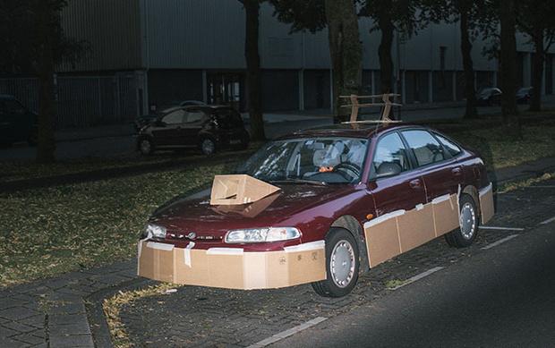 Фото №5 - Картонный тюнинг от амстердамского художника