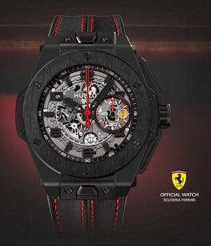 Фото №1 - Как Hublot Ferrari поздравлял