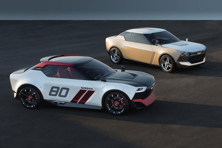 Фото №1 - Nissan IDx Freeflow и IDx Nismo: два олдскульных концепта из эпохи Dendy, вкладышей и газировки