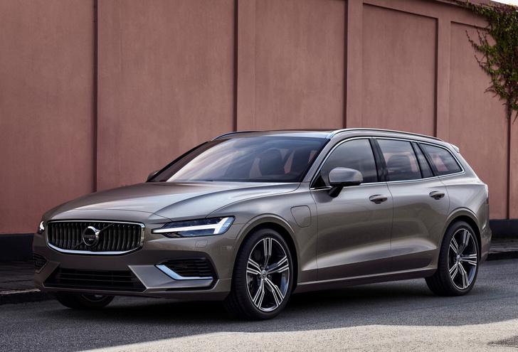 Фото №1 - Универсалы живы! Представлен новый Volvo V60