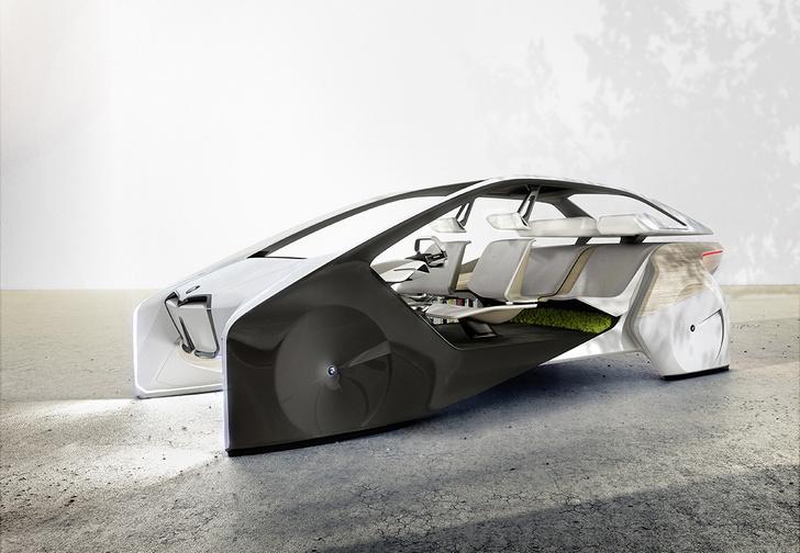 Фото №1 - BMW показала принципиально новый интерьер для беспилотных машин