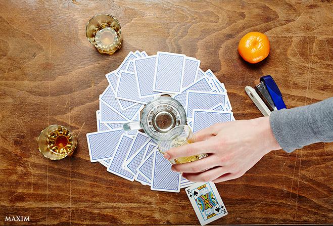 Кольцо огня - Алкогольная игра