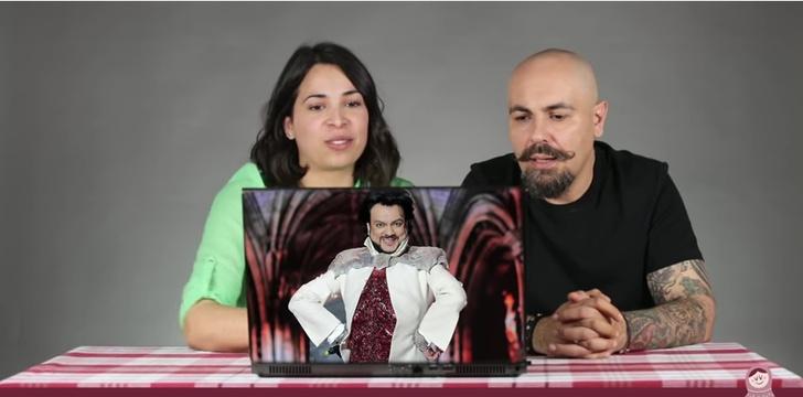 Фото №1 - «Человек-кот?», «Серийный убийца?» — Итальянцы угадывают профессии русских знаменитостей
