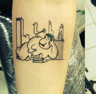 Фото №3 - 13 татуировок для интеллигентных людей