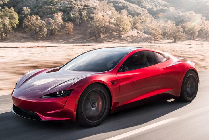 Фото №4 - Tesla представила новый спорткар, и он слишком быстр для этой планеты