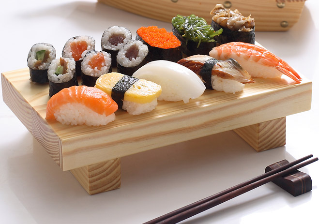 Фото №1 - Как правильно есть суши