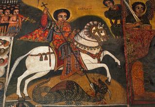 Как увеличить дракона. Архетип Георгия Победоносца как собирательный образ мужчины в разные эпохи