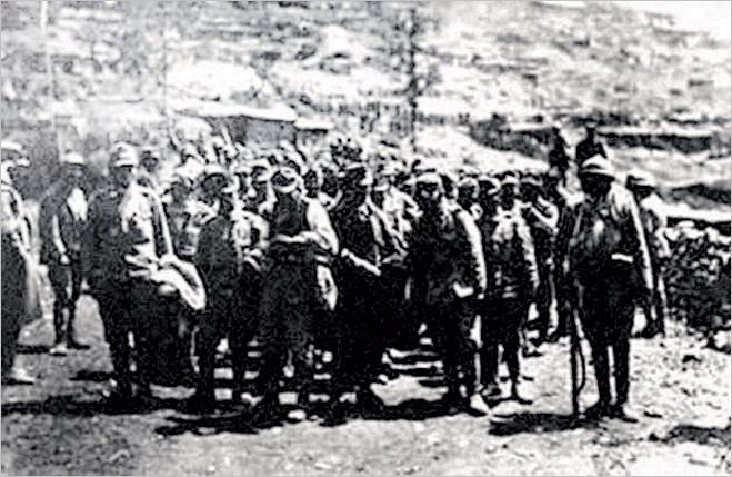 Добровольцы отправляются на фронт