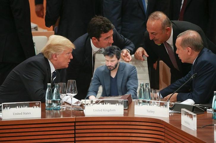 Фото №5 - Масштаб личности: лучшие шутки о прифотошопленном Путине на саммите G20