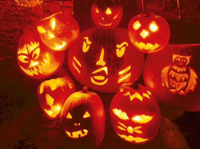 Фото №1 - Как сделать жуткую тыкву для Хеллоуина