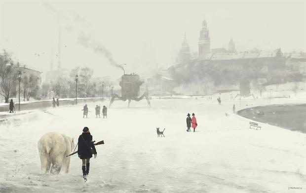 Фото №23 - Зловещая стимпанковская живопись с элементами славянского быта