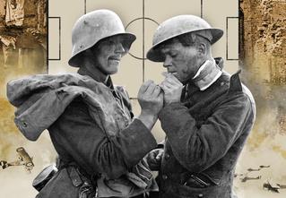 Война и мяч: история необычного матча между солдатами враждующих армий