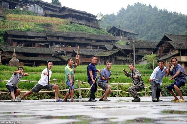 Фото №1 - Найдена деревня, в которой все жители владеют кунг-фу!