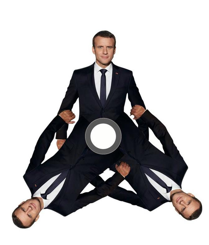 Фото №9 - Лучшие фотожабы на президента Франции Эммануэля Макрона!