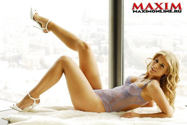 Анна Вишневская для Maxim
