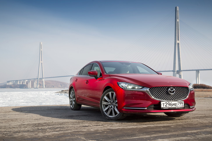 Фото №3 - Mazda 6 козыряет русским паспортом