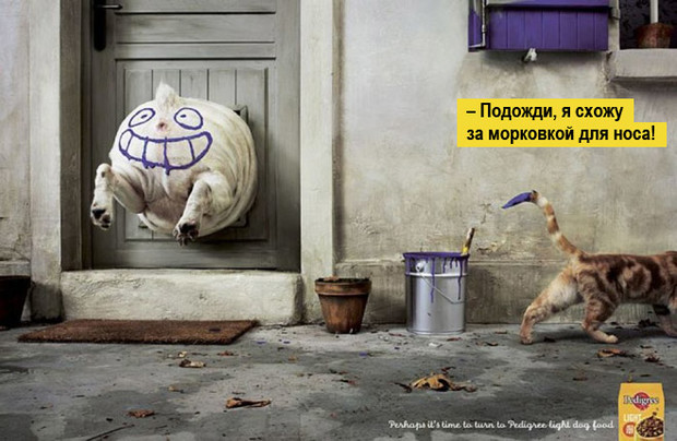 Фото №2 - 14 смешных реклам на тему ожирения и похудения