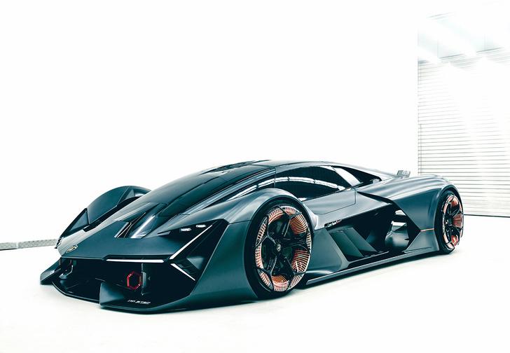 Фото №3 - Самый агрессивный концепт-кар от Lamborghini
