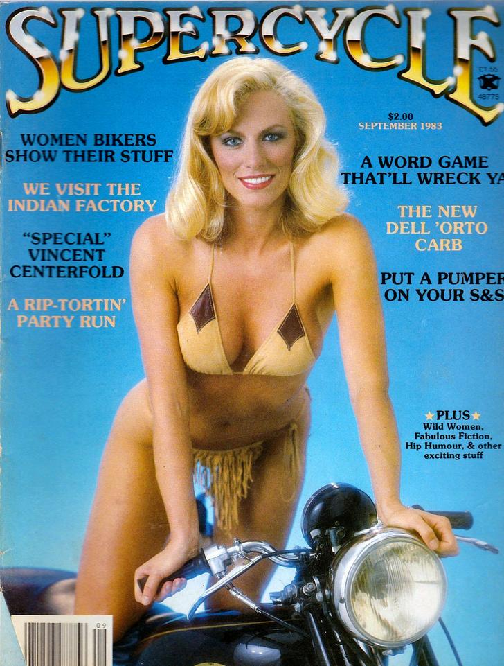 Фото №19 - Сексуальные девушки байкеров из 1980-х!